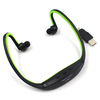 New 2014 Sport mp3 player Wireless Earphones Headphones mp3 music Player memory Card FM radio Headset flash mp3 with usb charger