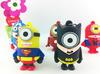 New Hot  cartoon super heros minions usb 2.0 flash memory stick pendrive 4GB/8GB/16GB/32GB/64GB usb flash drive pen drive