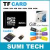 Real Capacity Micro SD Card Memory Card 4GB 8GB 16GB 32GB 64GB TF Card Flash Memory Free Gift adapter + TF card reader