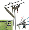 New Arrival Double Spring Automatic Fishing Rod Pole Bracket Adjustable Steel Stand Holder Fishing Tool