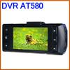 "AT580 2.7"" TFT Screen AllWinner 140Degree Wide-angle Dual Lens IR Night Vision Car DVR Camera Video Recorder Multi-Language"