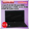 F 17.3 inch Hasee laptop i7 core K710C-i7 D2 windows 7 4G RAM 1TB HDD WIFI Camera USB 3.0