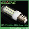 Ultra-Bright 10pcs/lot E27 SMD5730 AC220V-240V led corn bulb lamp light E27 15W 48LED 5730 5730SMD led lighting free shipping