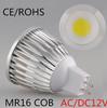Free shipping 1PCS gu10 / E27 dimmable / GU5.3 / E14 / B22 / MR16 / 9W 12W 15w COB AC110-220V High Power Led cob Light Bulbs