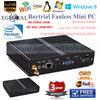 Baytrail Fanless Barebone HTPC Mini Computer With Intel Pentium N3510/N3520 Quad Core Linux Mini PC Windows 8.1 Micro ITX Car PC
