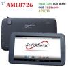 SALE! 7inch Amlogic AML8726 Dual Core Tablet PC Digital TV 8GB Rom 1GB RAM HDMI 1024 x 600 Free DHL shipping