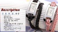 100 piezas al por mayor reloj, reloj fino reloj de cuero cuerda, Silicon Watch reloj pulsera de moda, relojes de pulsera de silicona dama reloj (China (continental))