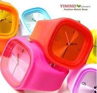 al por mayor reloj odm, jalea, reloj de caramelo, de silicona, reloj, reloj de pulsera, relojes luminosos (China (continental))