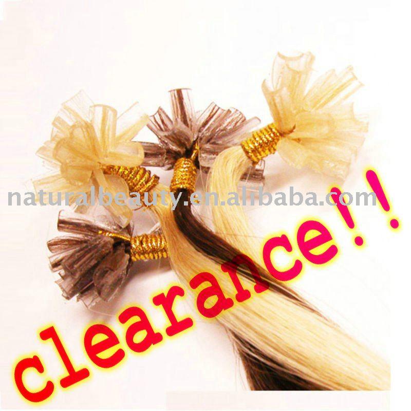nail hair,100% human hair,20''(50cm)factory clearance!hot sale ...