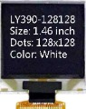 1.46 inch 128x128 White OLED display LCD