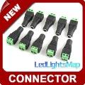 Free Shipping led strip connector Adapter for single color 3528 5050 SMD led strip [ LedLightsMap ]