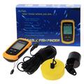 2013 new waterproof Depth Sonar 1pcs /lot Portable Sonar LCD Fish Finder Alarm 100M AP ice fishfinder