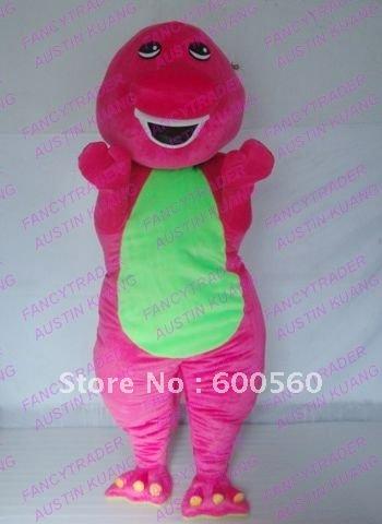 Wholesale High Quality Barney Mascot Costume Barney Mascot Barney Costume FT20037