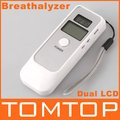Promotion!!! LCD Digital Alcohol Breath Tester Analyzer Breathalyzer,freeshipping, Dropshipping