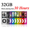 Free Ship Slim 1.8′ 4th gen 32GB 9Colors for choose mp3 player Music playing time 30Hours fm radio ebook video player