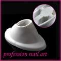 Wholesales Price Freeshipping 10pcs/LOT Rubber bottle Holder Nail Art Polish white Tool C214