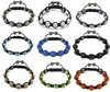 Wholesale 20pcs (mix order) Shamballa bracelet jewelry Micro Pave CZ Disco Ball Bead free shipping (pls choose the color)