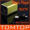 Micro SD/TF Music Player Green Mini Speaker for Laptop iPod