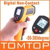 Digital Infrared Non-Contact Laser IR Thermometer Weather Station -50 to 380 degree, dropshipping