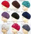 Crochet headbands for women flower Headbands crochet headwrap headwear Mixed color Free shipping