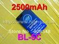 2500mAh BL-5C / BL 5C High Capacity Battery for Nokia 5130 XpressMusic 6230i 1100/1108/1110/1112/1116/1200/1208/1209/1255/1315