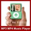 1.8 inch Screen MP3 MP4 Players 16GB 3th Gen Ebook Reader FM Radio 1pcs Free shipping