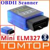 New ELM327 V2.1 Mini Bluetooth ELM 327 elm327 OBD OBDII OBD-II OBD2 Protocols Auto Diagnostic Tool Wholesale