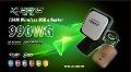 Free shipping!!2012 kasens 990WG new Launch 60DBI panel Antenna 150M wireless USB adapter wifi usb 6000MW 2.4GHz