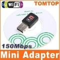 150M USB WiFi Wireless Network Card 802.11 n/g/b LAN Adapter C1288 Free Shipping 10pcs/lot Wholesale