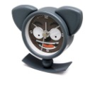 Mini Cartoon Metal Swing Clock, Alarm Clock, Desk Clock, Wholesale & Retail Free Shipping