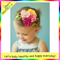 Free Shipping 10pcs/lot baby girl cotton headband Baby fashion hair band colorful girl head accessories multi styles
