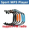 Headphone Sport MP3 Music Player Headset Wireless Portable MP3 Player With FM Radio Micro TF Card Slot Free Shipping