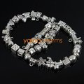 80x MIXED 40 DESIGN Charms Beads Tibetan Silver DIY BEADS Fit DIY CHARM Bracelets Necklace 151756-2