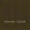 Water Transfer Printing Hydro Graphics Film - Yellow Carbon Fiber GW12470 WIDTH 100CM