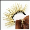 2014 Seconds Kill Real Geometric Min Order 10 Usd (mix Item) Spike Hair Clips Band Hairpin Delicate Jewelry Wholesale Spx0014