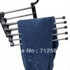 Magic trousers hanger/rack multifunction pants hanger/rack 5 in one Free shipping#8726