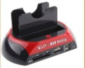 "2.5"" 3.5"" SATA/IDE 2-Dock HDD Docking Station e-SATA/Hub,Free Shipping +Drop Shipping"