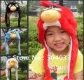 Big discount Limited promotion!!kid's Cartoon stuffed animal cap,women's Ear hat, Men's plush cap,childen' dolls hat,General cap