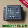 5A LS0512R 12V EP LandStar Solar cells panels Battery Charge Controller Regulator with light and timer Sensor