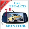 """7"""" TFT LCD Color Screen Car Mirror Monitor Reverse Rearview camera VCR DC 12V x1"""