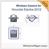 High quality wireless HD CCD car parking rear view camera for Hyundai ELANTRA night vision waterproof