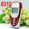 Original Nokia 8310 Mobile Cell Phone 2G GSM 900/1800 Unlocked Arabic Keyboard 8310 Red Refurbished