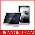 android 4.0 7 inch tablet pc Allwinner A13 Q88 5 points capacitive Screen+Multi Touch+1.2GHz 512MB 4GB+Wifi+free shipping