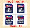 Retail Wholesale Full Capacity Transcend SDHC Class 10 C10 SD Memory Card 2G 4GB 8GB,16GB,32GB,64GB sdhc memory cards Free ship
