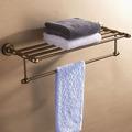 Free shipping cosmetic bath towel rack towel shelf towel holder storage kitchen shelf bronze aluminum