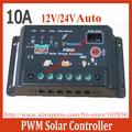 New updated version 10A Solar Charge Controller Regulators 12V/24V Autoswitch Cheap Solar Panel Charge Controller