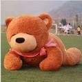 Free shipping,3 colours for choose (120cm) Sleeping plush Teddy Bear toy ,bear gifts/girls doll toys/chrismas