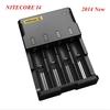 Free Shipping + 1PC 2014 New Nitecore Battery Charger Universal Charger Nitecore I4 Charger+ Retail Package