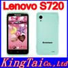 "Russian language Original Lenovo S720 S720i 4.5"" Andorid 4.0 MTK6577 Dual Core Mobile Phone GPS 4GB ROM Dual Sim Free Shipping"