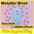 [CHLD-007]Wholesale 1000pcs/bag Nail Metallic Decoration 3D Painted Metal alloy Nail Art Decoration+Free Shipping